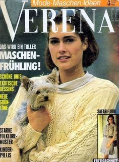 "Photo from album ""Verena № on Yandex. Crochet Book Cover, Crochet Books, Knit Crochet, Knitting Magazine, Crochet Magazine, Safari Look, Knitting Books, Rubrics, Free Pictures"