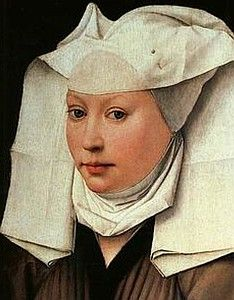 Julian of Norwich.  The first woman writer in English whose work survives.  A contemporary of Chaucer.  Fourteenth century.