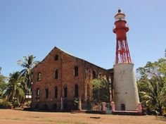 Phare de l'Île Royale, November 2005   French Guyana, photo by Larry Halff