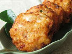 West Indian Cod Fish Cakes | ... this simple fish cake recipe we taken a similar fish cake in bangkok i