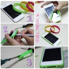 DIY phone case - so cool! Never would've thought if this