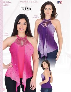 BLUSA MODA DIVA PARA DAMAS / DIVA FASHION BLOUSES FOR LADIES