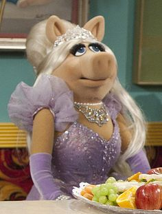 Miss Piggy- The Muppets