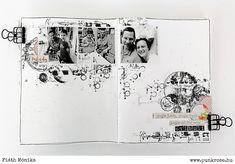 Készül a decemberi albumunk - punkrose. Me Time, Videos Online, Photo Wall, Layout, Marvel, Scrapbook, Journal, Frame, December
