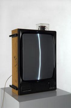 FLUXUS | NAM JUNE PAIK | ZEN FOR TV | 1963 | ART INSTALLATION | #NamJunePaik.