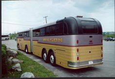 Bus Stop Classic: 1958 Kässbohrer Setra Continental Trailways Super Golden Eagle – Strike Two For The Articulated Highway Bus Bus Camper, Bus Motorhome, Campers, Star Bus, Prevost Bus, Bus City, Express Bus, Converted Bus, Bus Living