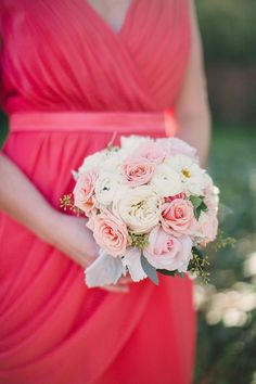 Ombre Wedding at Aldie Mansion  Read more - http://www.stylemepretty.com/2014/01/27/ombre-wedding-at-aldie-mansion/