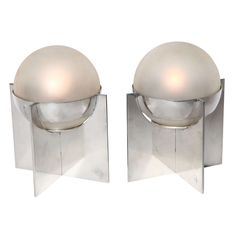 Pair of Art Deco Table Lamps | From a unique collection of antique and modern table lamps at https://www.1stdibs.com/furniture/lighting/table-lamps/