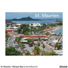 St. Maarten - Marigot Bay Postcard by Khoncepts (sold - France) Thanks again!