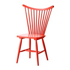 TRENDIG 2013 Chair IKEA - comes in black and red. Would also be cute option at the counter desk in kitchen. $59
