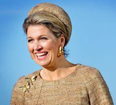 Queen Maxima opens Beursvloer in Alkmaar