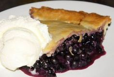 HUMM la meilleure que j'ai mangé ! Best Blueberry Pie Recipe, Canadian Food, Sweet Pie, French Food, Love Food, Sweet Treats, Cooking Recipes, Easy Recipes, Healthy Recipes