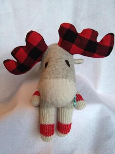 Sock Moose Canada 150 Stuffed Animal Soft Toy Moose