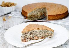 Ореховый пирог с маком