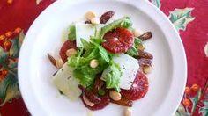 blood orange salad with dates, parmesan, almonds, arugula에 대한 ...