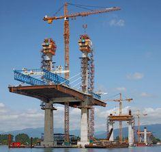 Puente en ejecución