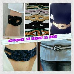Collares,pulseras y cinturones. Necklaces, Bangle Bracelets