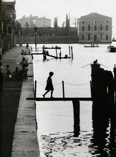 Willy Ronis, Venice, 1959