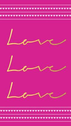 FREE Valentine's Day Phone Wallpaper // www.allthingsprettyblog.com