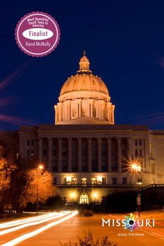 Missouri's capital city NEEDS YOU. Help crown Jefferson City as the most beautiful in America!   1. share this pin on Facebook or create your own 2. include the hashtags #JCMO and #BestOfTheRoad 3. celebrate the win :) Jefferson City, Capital City, Hashtags, Missouri, Vacations, Taj Mahal, Pride, United States, Crown