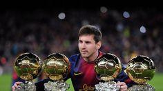 Messi tiene seis La Liga trofeos y dos Copas del Rey y cinco Supercopas de España.