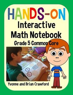 Interactive Math Notebook for Fifth Grade - 234 pages! $