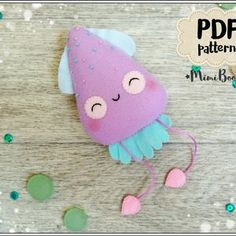 VK is the largest European social network with more than 100 million active users. Sewing Toys, Sewing Crafts, Sewing Projects, Craft Projects, Felt Crafts Patterns, Easy Patterns, Felt Keychain, Diy Bebe, Foam Crafts
