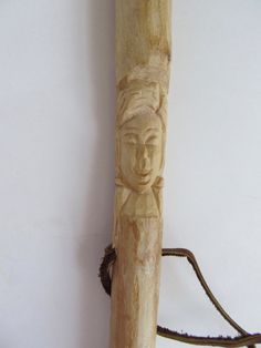 Hiking Stick Walking Stick Staff Hand Carved by NorthWindCarvings #maineteam #giftsforhim #Maine
