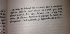 parfois-je-ris-seul-dettachee-4 Jean Paul Dubois, Le Divorce, Messages, Personalized Items, Quotes, Handsome Quotes, Laughing, All Alone, Beauty