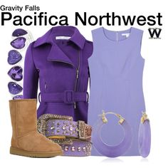 Inspired by Gravity Falls character Pacifica Northwest.
