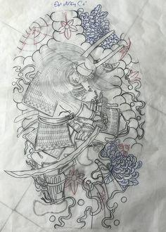 Japanese Tattoo Art, Samurai Tattoo, Love Tattoos, Maori, Tatoo