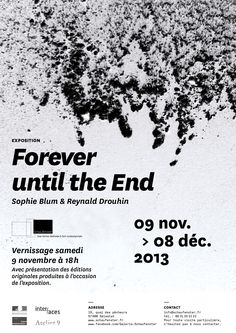 Reynald Drouhin | Recherches | Esquisses | Documents » Forever until the End