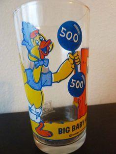 Vintage Baby Huey Drinking Glass Pepsi Collectors Series Harveytoons
