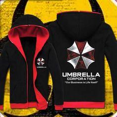 Resident Evil Hoodies Sweatshirt Biohazard