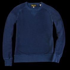 UNIONMADE - Levi's Vintage Clothing - 1950s Crew Sweatshirt in Indigo