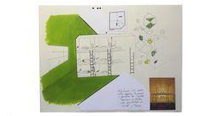 La máquina de luz verde