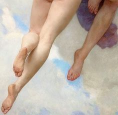 """""""Abduction of the psyche"""" by William Adolphe Bouguereau, 1899 - Contemporary Art Renaissance Kunst, Renaissance Paintings, Classic Paintings, Old Paintings, Wallpaper Angel, Scenery Wallpaper, Photo Trop Belle, William Adolphe Bouguereau, Art Hoe"""