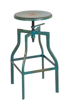 OSP Designs ETV30AS-ATQ-osp East Vale 30' Metal Barstool, Antique Turquoise ** Details can be found by clicking on the image.