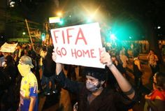 Anti-government demonstrations in Brazil