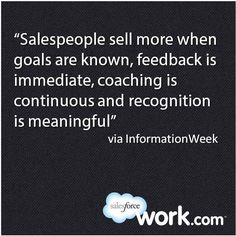 Salesforce.com Motivates Sales Teams With Work.com