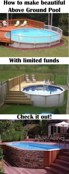 Build an Above-The -Ground Pool