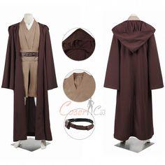 Express 2 Cosplay Kostüm Karneval Star Wars Obi-Wan Kenobi Jedi TUNIC Ver