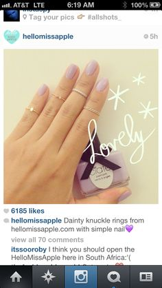 Knuckle rings