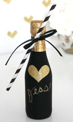 DIY Champagne Favor | CRAFT