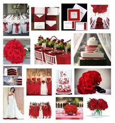 Paleta de cores: Vermelho e branco