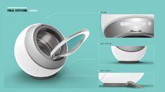 Klein - mini washing machine concept on Behance