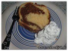 Rezept Marmorkuchen auf meinen Blog http://schnecki78.de/2014/04/rezept-marmorkuchen #Rezept #backen #kuchen