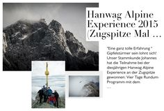 Hanwag Alpine Experience 2015 (Zugspitze mal anders)