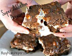Super Addictive Brownies / by Busy Mom's Helper #Brownies #Chocolate #Dessert