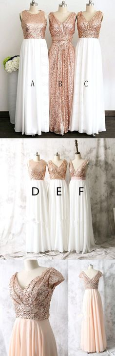 2018 Gold sequin bridesmaid dresses, off shoulder bridesmaid dresses, short bridesmaid dresses, cheap bridesmaid dresses, modest bridesmaid dresses, BD0406